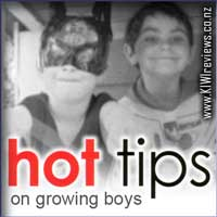 Product image for Hot Tips on Growing Boys