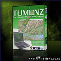 Product image for TUMONZ - The Ultimate Map of NZ : v3 Business