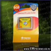 Pretec CF+ Card 6GB High Speed Type II 80x