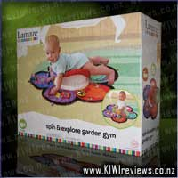 Spin and Explore Garden Gym