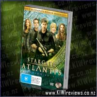Product image for Stargate Atlantis : The Complete Fourth Season