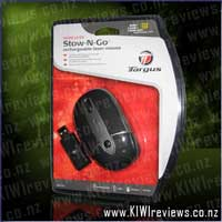 Product image for Wireless Rechargeable Laser Stow-N-Go Laptop Mouse - AMW28AU