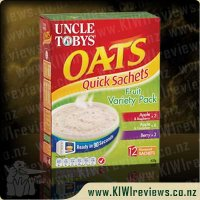 Uncle Toby's Oats Quick Sachets