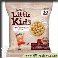 Product image for Heinz Little Kids Tomato Mini Corn Cakes