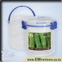 Product image for Sistema Klip-It Round with bonus strainer