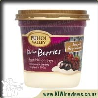 Product image for Puhoi Valley Divine Berries Yoghurt Tub