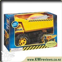 Muscle Dump Truck with Helmet and Tool Kit
