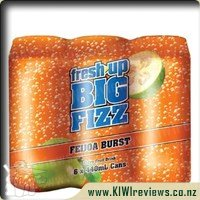 Fresh Up Big Fizz Soft Drink Feijoa Burst