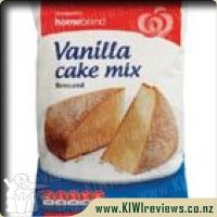 Homebrand Cake Mix Vanilla packet 340g