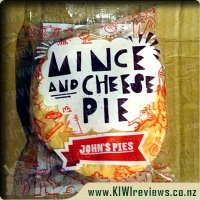 Product image for John's Mince & Cheese pie