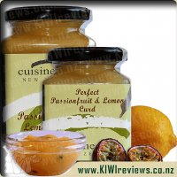 Cuisine Scene Passionfruit and Lemon Curd
