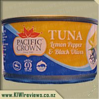 Pacific Crown Tuna - Lemon Pepper & Black Olives