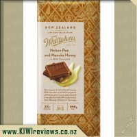 Product image for Whittakers Nelson Pear and Manuka Honey Chocolate