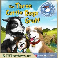 Product image for The Three Cattle Dogs Gruff