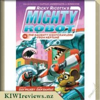 Product image for Ricky Ricotta's Mighty Robot vs the Naughty Nightcrawlers from Neptune (#8)