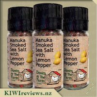 Product image for Manuka Smoked Salt with Lemon Pepper