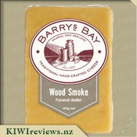 Product image for Barrys Bay Wood Smoke Flavoured Cheddar