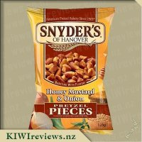 Product image for Snyders of Hanover Pretzel Pieces - Honey Mustard & Onion