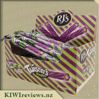 Product image for RJs Sour Twisters Logs - Grape & Lime