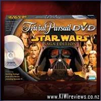 Product image for Trivial Pursuit - Star Wars Saga Edition DVD Game