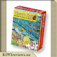 Product image for Where's Kiwi? Jigsaw Puzzle and Book