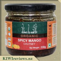 Down to Earth Organic Chutney - Spicy Mango