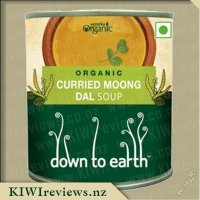 Down to Earth Organic Soup - Curried Green Gram (Moong Dal)