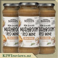 Barker's Meal Sauce - NZ Mushroom & Red Wine