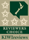 5-star Award from KIWIreviews.nz